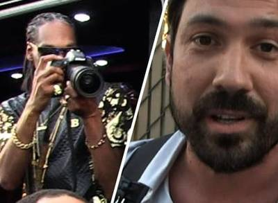 News video: Snoop Dogg Is Impressed By Our Camera Guys Rapping Skills!